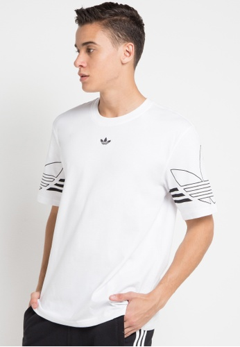 a01e26cb64f88 Buy adidas adidas originals outline tee Online on ZALORA Singapore