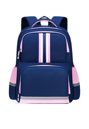 Twenty Eight Shoes navy VANSA Nylon Backpacks VAK-Bp2058 23223KC2D81FB3GS_1