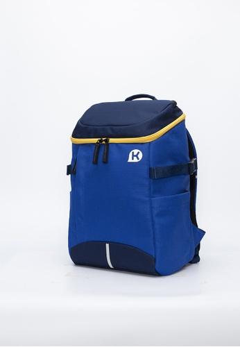 Kags blue KAGS Dustin 2 Series Ergonomic School Backpack - Blue 8C4B5KCEE7D0A5GS_1