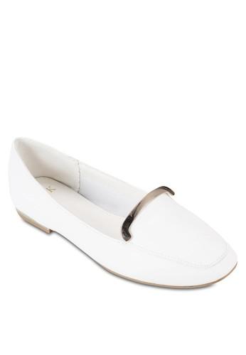 金屬飾平底鞋esprit 錶, 女鞋, 鞋