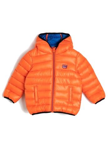 KOTON orange Puff Jacket 0EA5FKA893C3B7GS_1