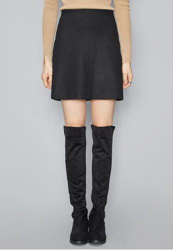 A字羊毛esprit暢貨中心迷你短裙, 服飾, 迷你裙