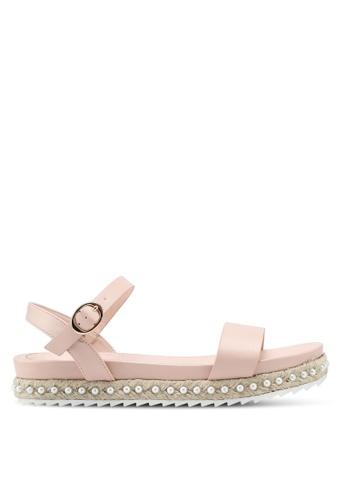 VINCCI pink Strappy Sandals D4CC8SHD8518A1GS_1