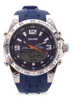 Quartz Analog Digital Watch SP-110 BLU