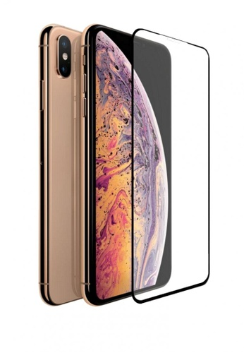 sports shoes 6eee6 d1922 iPhone XS Max 5D Full Screen Tempered Glass Curved Screen Protector