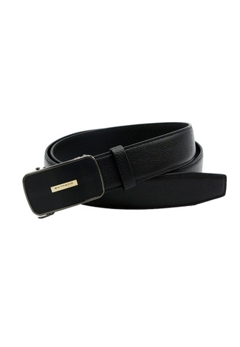 EXTREME black Extreme Genuine Leather Auto Belt 5F4E7AC068C337GS_1
