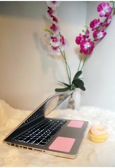 Wrist Pads for MacBook - Piggy Pink