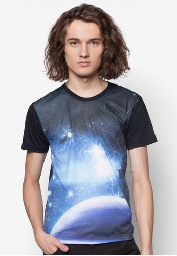 銀河系印花TEE, 服esprit香港門市飾, 印圖T恤