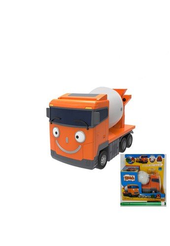 Tayo The Little Bus multi Original Tayo The Little Bus Chris Cement Mixer Truck TYX218005 Mimi World Korean Toys Animation Pull Backward BAD2FTHC0337FCGS_1
