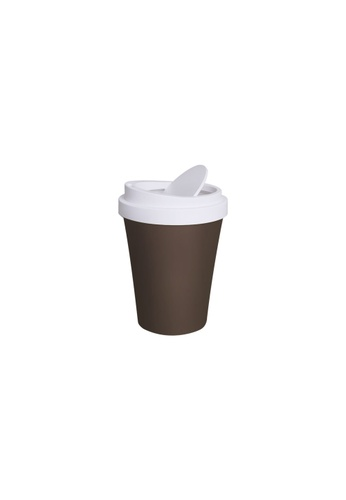 Qualy Qualy Mini Coffee Bin (Brown) 7CDA2HL4D2CEEBGS_1
