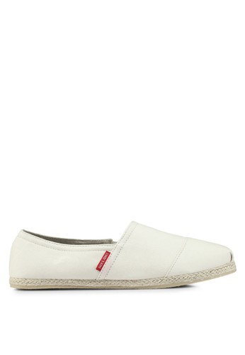 Jack & Jones white Canvas Espadrille Slip-Ons FA51ESH00B5C0DGS_1
