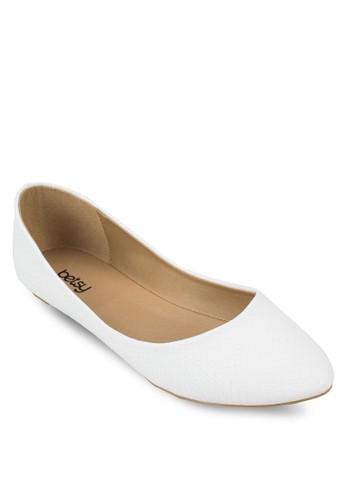 動物紋尖頭平底鞋esprit 台中, 女鞋, 鞋