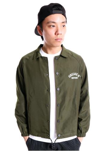 Praise green Coach Jacket PR067AA53XRUSG_1