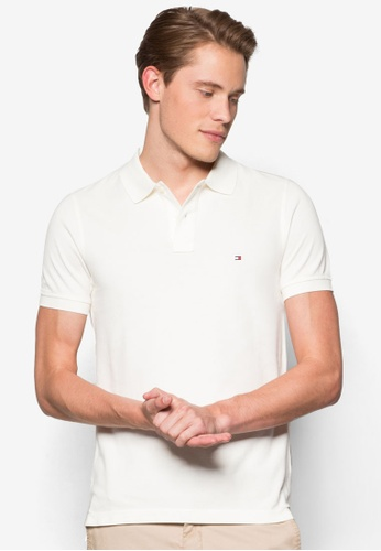 Tommy Hilfiger white SLIM FIT POLO S/S SF TO861AA43JOQMY_1