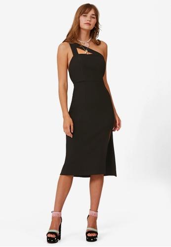 Finders Keepers black Daniella Dress 2A3BEAA5207AD9GS_1