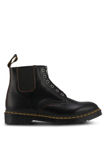 Dr. Martens black Core Fusion 101 Gst 6 Eye Boots DR086SH0SX6IMY_1