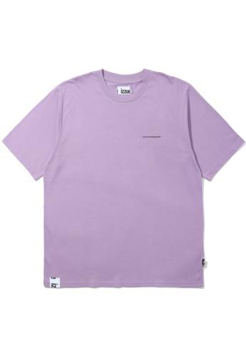 izzue purple Number tee 31FFBAAA14196AGS_1