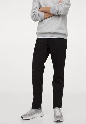 H&M black Regular Fit Jeans 5271DAA01C2673GS_1