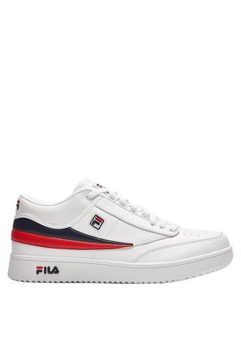 FILA white T-1 Sneaker A4CC5SH2F28CC2GS_1