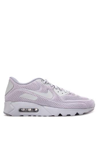 Nike grey Men's Nike Air Max '90 Ultra BR Shoes NI126SH59WJGID_1