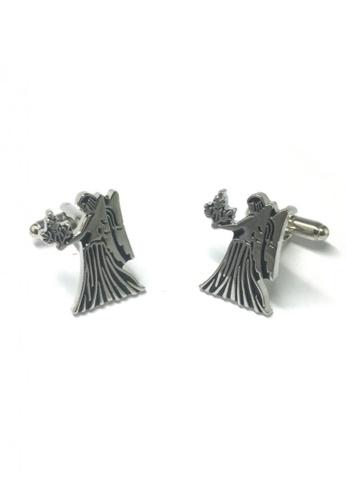 Splice Cufflinks silver Horoscope Virgo Cufflinks   SP744AC90DSFSG_1