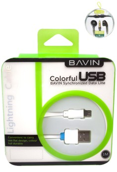 USB Data Line for Android with FREE Stereo Headset