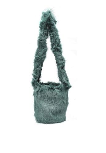 niko and ... green Fur Bag F1773AC334E513GS_1