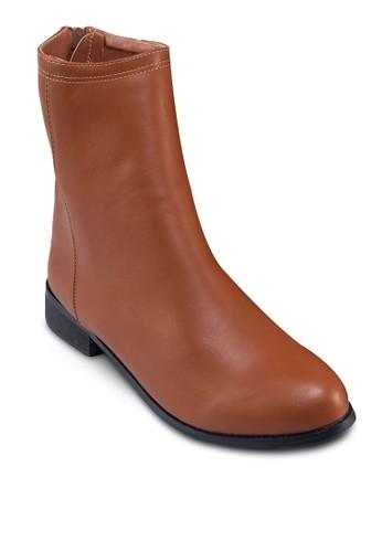 Nikita 後zalora時尚購物網評價拉鍊短靴, 女鞋, 靴子
