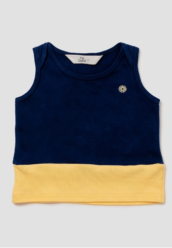 Tili Dahli blue Sunny Singlet - Ocean B2055KA2BA6C6FGS_1