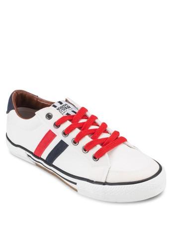 esprit台灣門市撞色繫帶休閒鞋, 鞋, 鞋