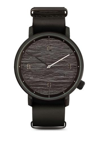 KOMONO grey Magnus II Graphite Watch KO163AC0T0SLMY_1