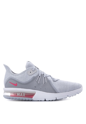 Nike grey Women's Nike Air Max Sequent 3 Running Shoes NI126SH0STSSMY_1