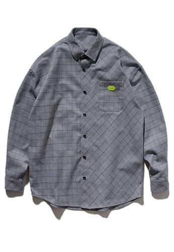 Twenty Eight Shoes Trend Printed Shirt 9284W 3027CAA5A484B1GS_1