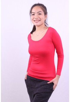 Long Sleeve Knits Plain