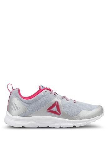 Reebok grey and pink Reebok Run Supreme 4.0 Shoes RE691SH0SWZPMY_1