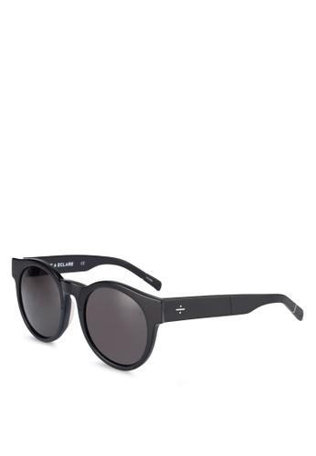 BLANC & ECLARE black Shanghai Sunglasses A2355GL4961D2AGS_1