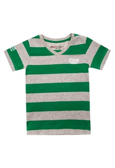 T-Shirt V-Neck Stripes