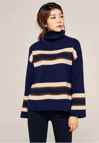 拼色寬鬆針織上衣, 服esprit 香港飾, 毛衣& 針織外套