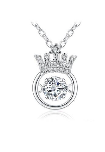 LYCKA silver LPP88067 S925 Silver Necklace 2A571AC544FCD0GS_1