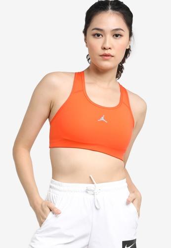 Nike orange Jordan Jumpman Sports Bra B15BEUS451DA27GS_1