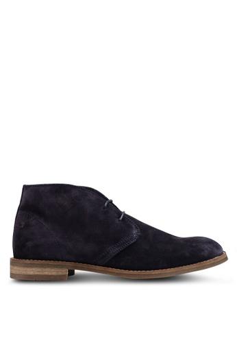 MANGO Man blue Suede Desert Boots 1C481SHC5DD94EGS_1