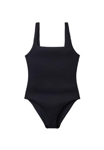 COS blue Open-Back Swimsuit 25261US780EC59GS_1