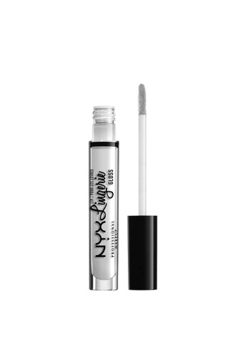 NYX Professional Makeup white NYX Professional Makeup Lip Lingerie Gloss - LLG01 CLEAR EF204BEED0C2F2GS_1
