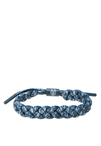 Rastaclat blue Shoelace Bracelet: Arashi RA072AC0JYOVPH_1