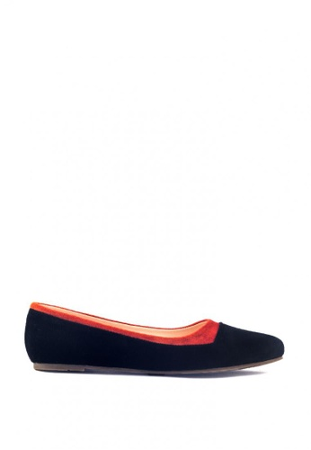 M&G orange Daryl Flats by M&G 11CDESH51A43E1GS_1
