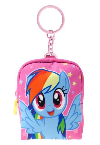 My Little Pony pink My Little Pony Rainbow Dash Coin Purse Keychain 10795KCA5D5AFFGS_1
