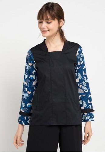 Bateeq multi Jacket Cotton Print AABE4AA260AC87GS_1