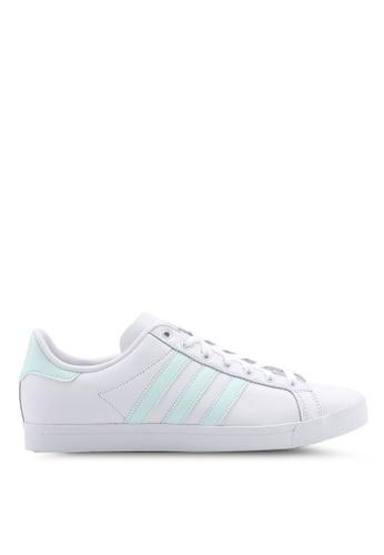 official photos 2d997 9c913 adidas white adidas originals coast star w sneakers 0F70ASH43A4950GS 1