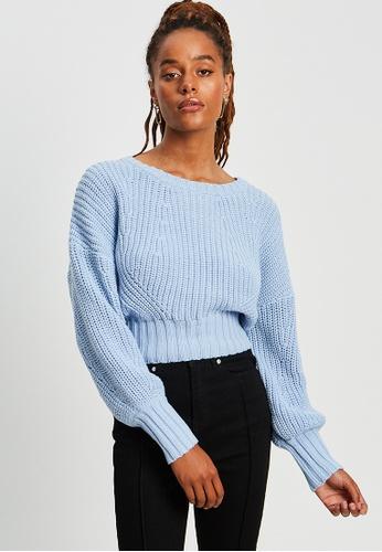 BWLDR blue Essential Knit Sweatshirt E1300AA412B058GS_1