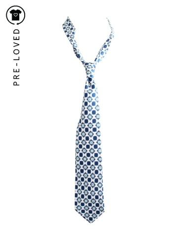 Etro white Pre-Loved etro Printed Tie EE505ACBA2ECF4GS_1